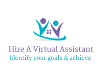 Hire a Virtual Assistant logo